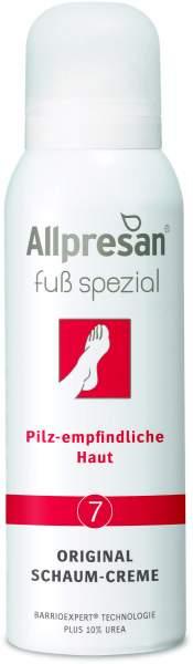 Allpresan Fuß spezial Nr.7 Fußpilz 125 ml Schaum