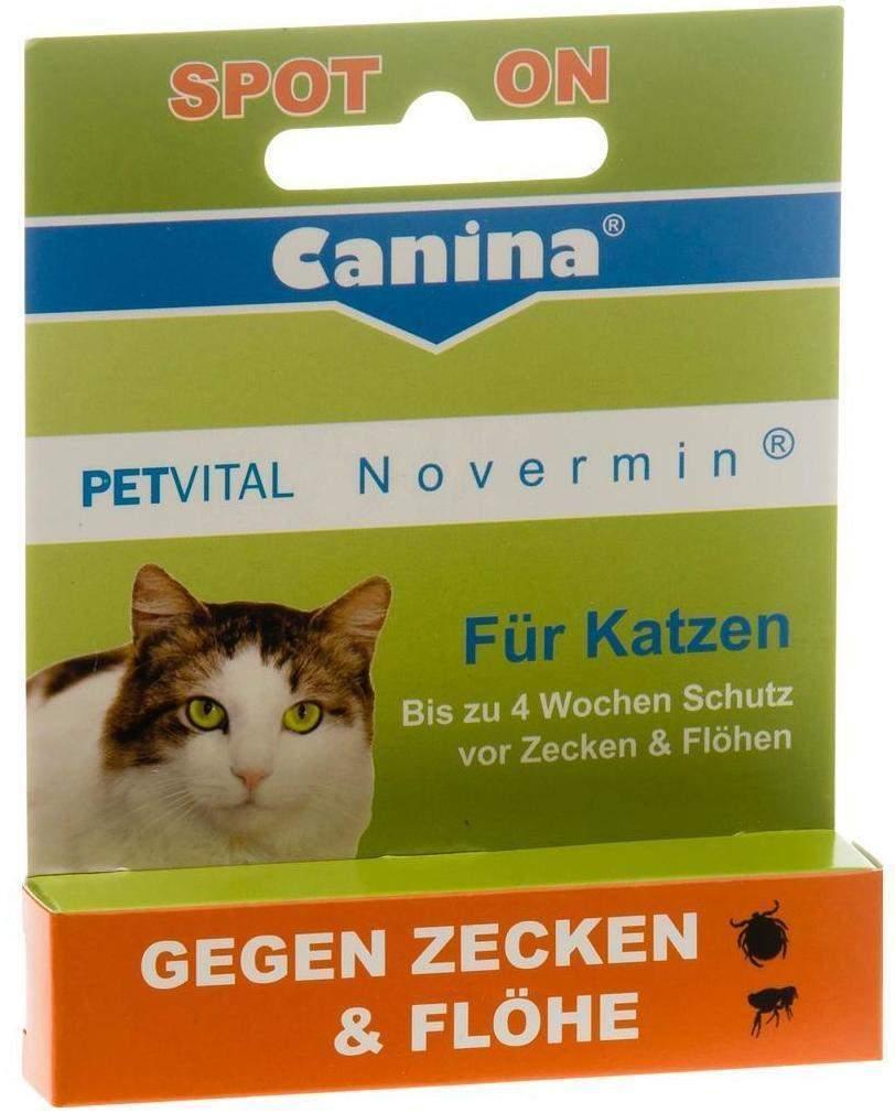 Petvital Novermin flüssig für Katzen 2 ml Flüss...