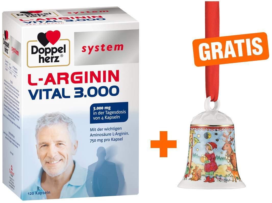 Doppelherz L-Arginin Vital 3000 + gratis Hutsch...