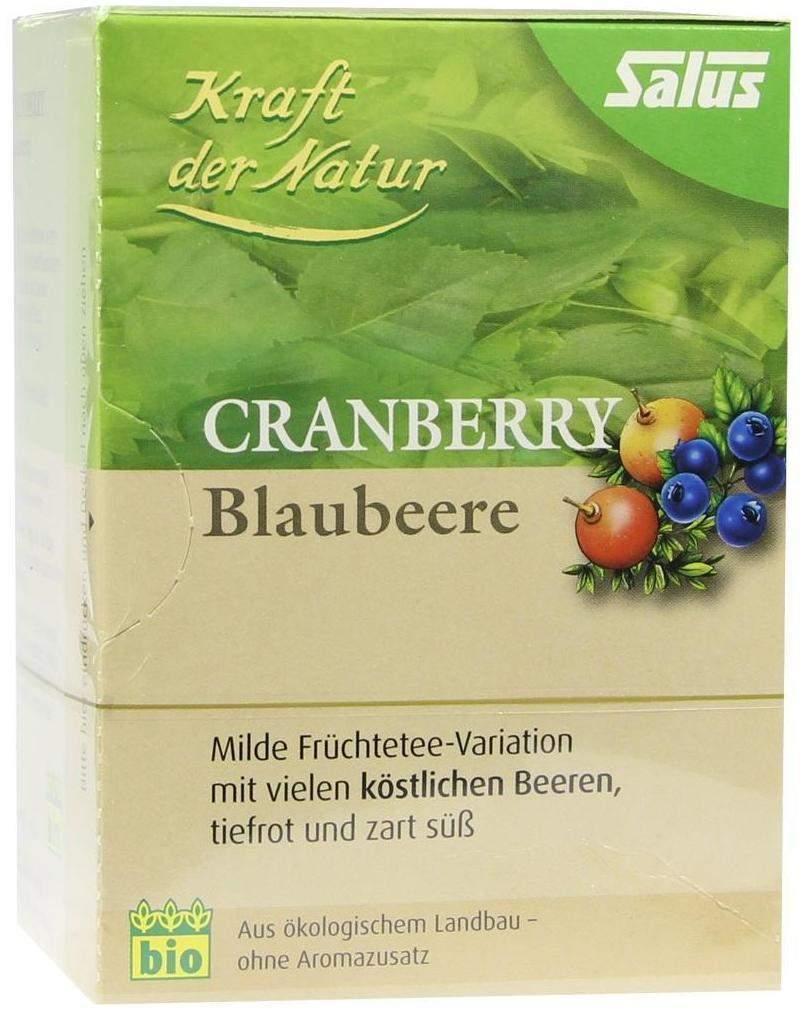Cranberry Blaubeere Tee Kraft der Natur Beutel ...