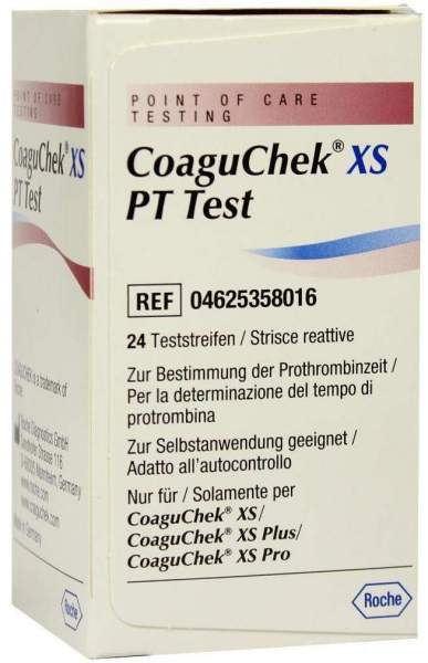Coaguchek Xs Pt 24 Tests