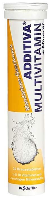 Additiva Multivitamin + Mmineral Mandarine 20 B...