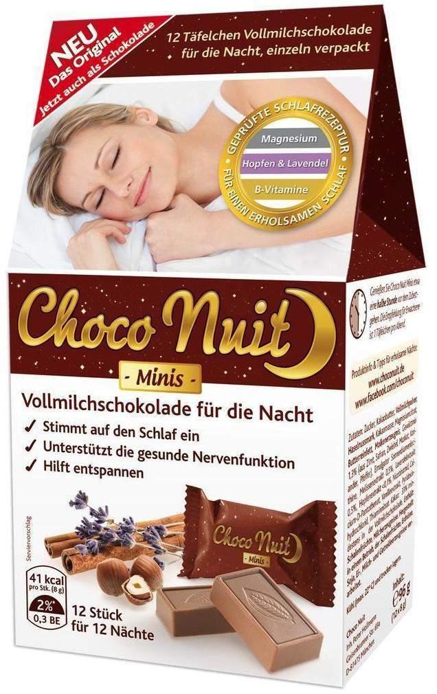 Choco Nuit Minis Vollmilchschokolade 12 Täfelchen