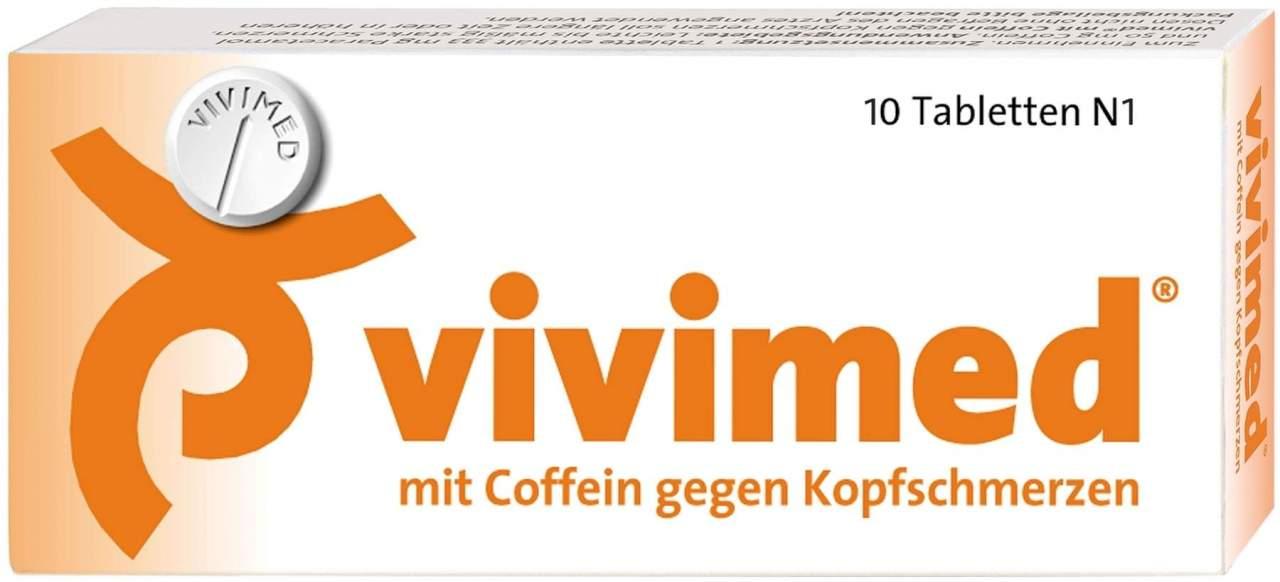 Vivimed mit Coffein 10 Tabletten