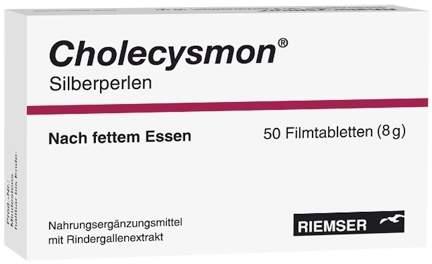 Cholecysmon Silberperlen 100 Dragees