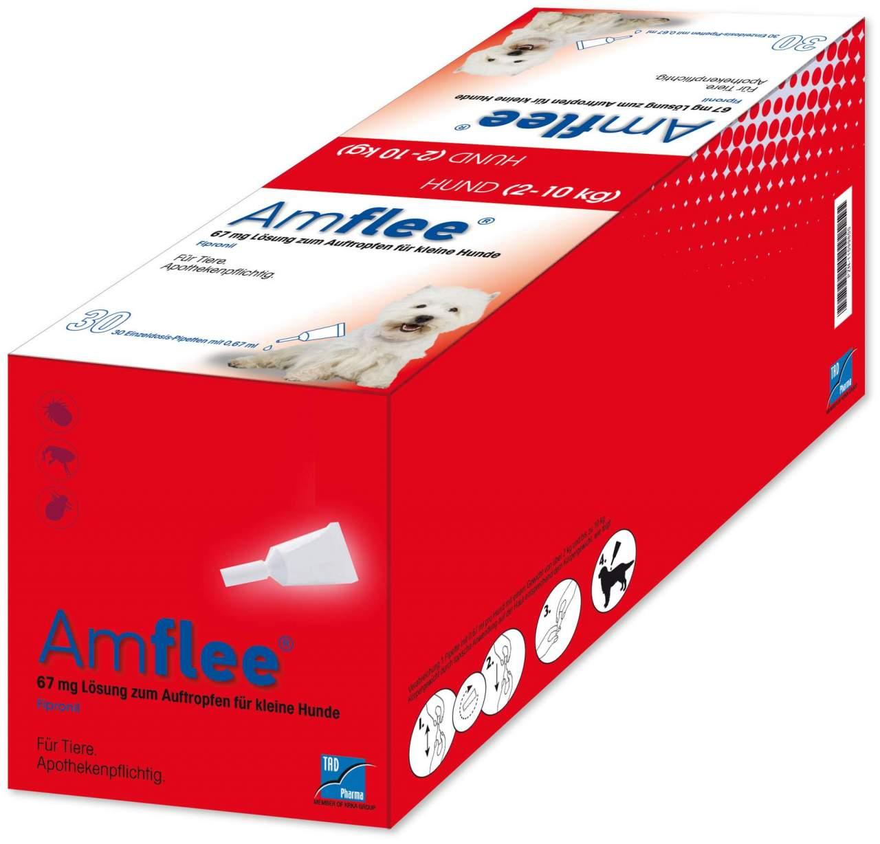Amflee 67 mg Lösung zum Auftropfen für kleine H...