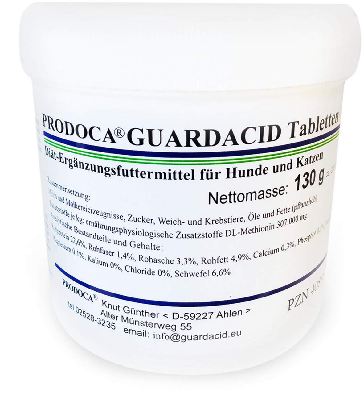 Guardacid Tabletten Vet 200 Tabletten