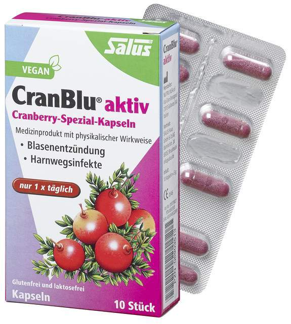 Cranblu Aktiv Cranberry Spezial 10 Kapseln