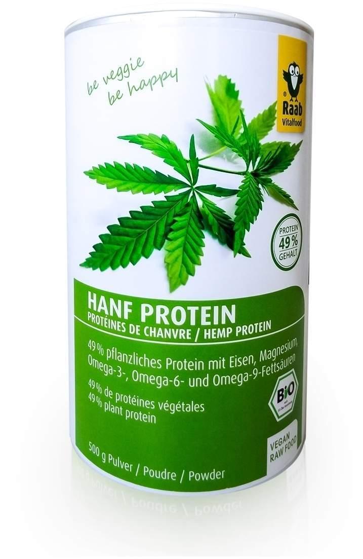 Hanfprotein Bio 500 g Pulver