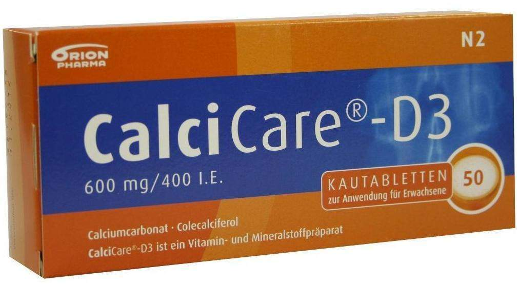 Calcicare D3 50 Kautabletten