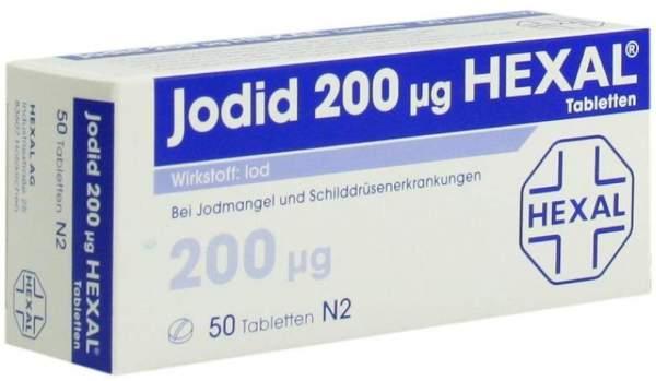 Jodid 200µg Hexal 50 Tabletten