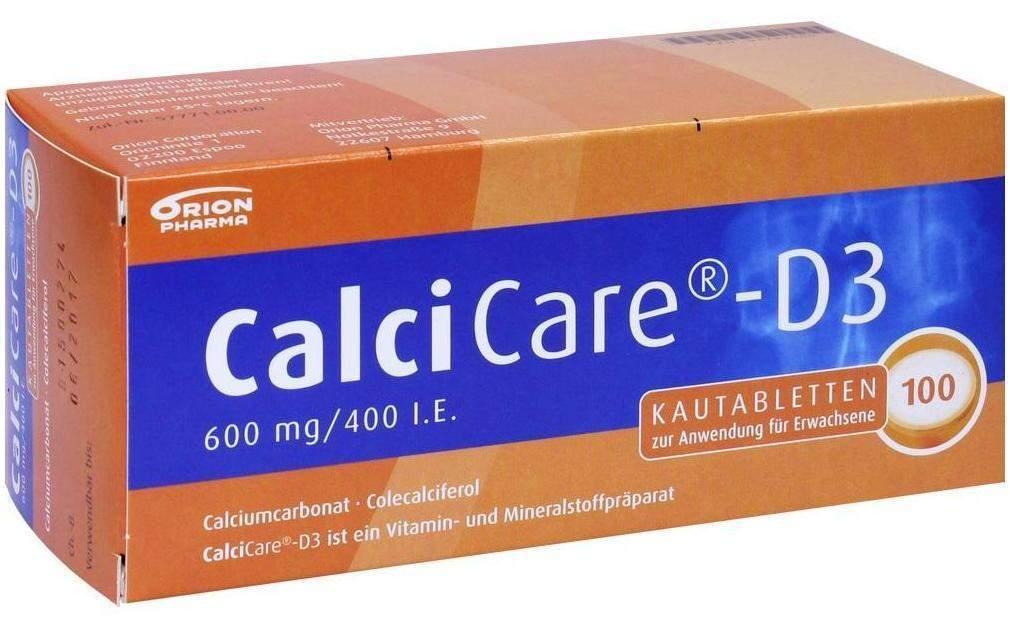 Calcicare D3 100 Kautabletten