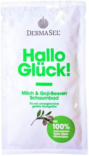 Dermasel Totes Meer Schaumbad Hallo Glück 40 ml...