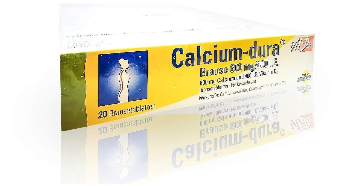 Calcium Dura Vit D3 Brause 600 mg 400 I.E. 120 ...