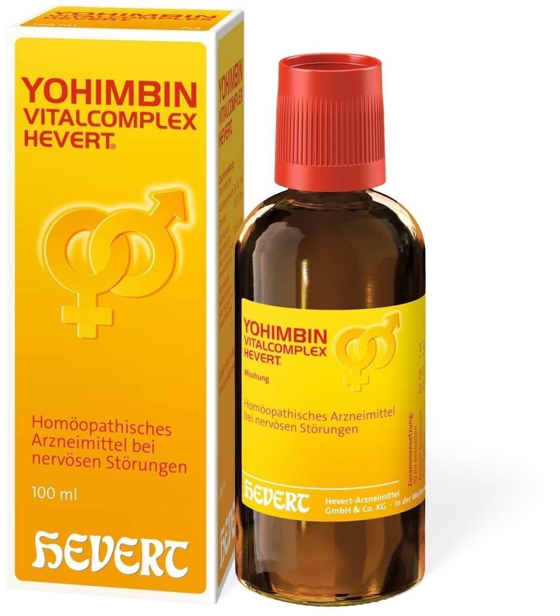Yohimbin Vitalcomplex 100 ml Tropfen