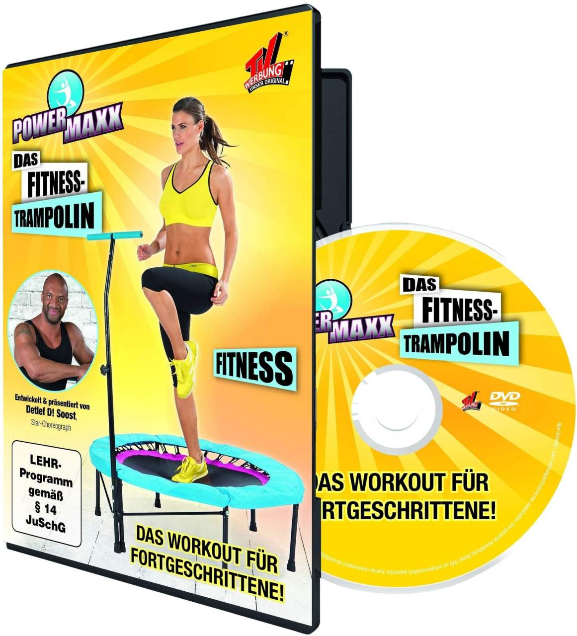 Power MAXX Fitness- DVD Fitness