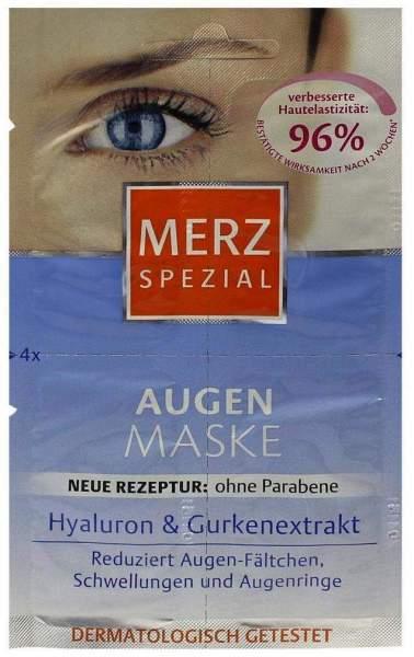 Merz Spezial Augen Maske 4 x 1 ml Gesichtsmaske