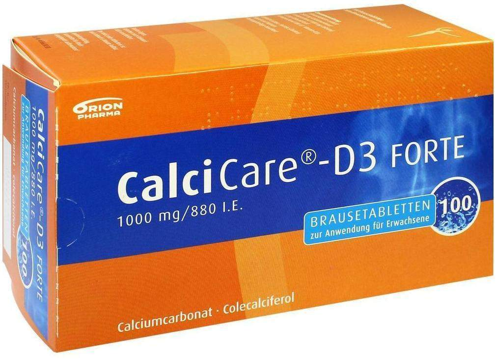 Calcicare D3 Forte 100 Brausetabletten
