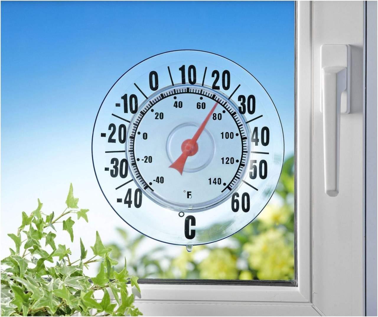 Außen - Thermometer XXL -