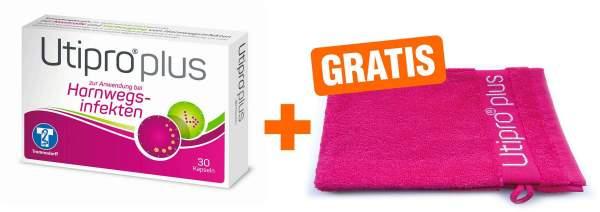 Utipro plus 30 Kapseln + gratis Waschhandschuh