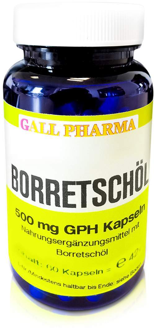 Borretschöl 500 mg GPH 60 Kapseln