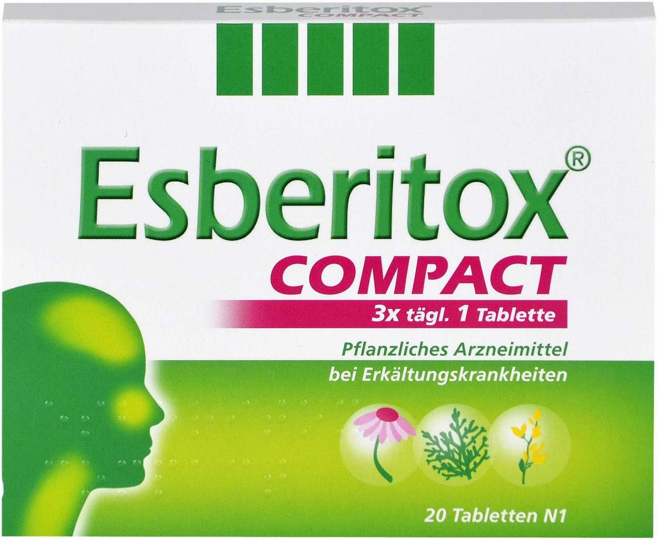 Esberitox Compact 20 Tabletten
