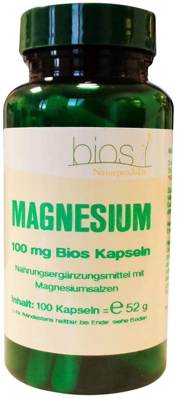 Magnesium 100 mg Bios Kapseln