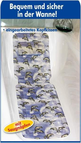 Badewannenmatte Anti-Rutsch mit Delfinen