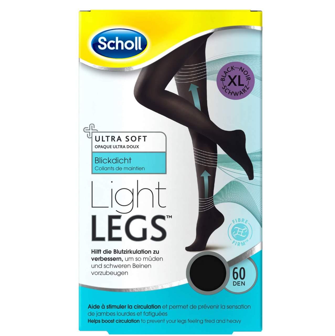 Scholl Light Legs 1 Strumpfhose 60 DEN XL schwarz