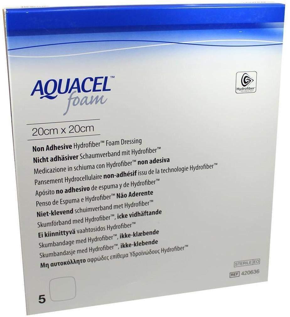 Aquacel Foam Nicht Adhäsiv 20x20 cm V