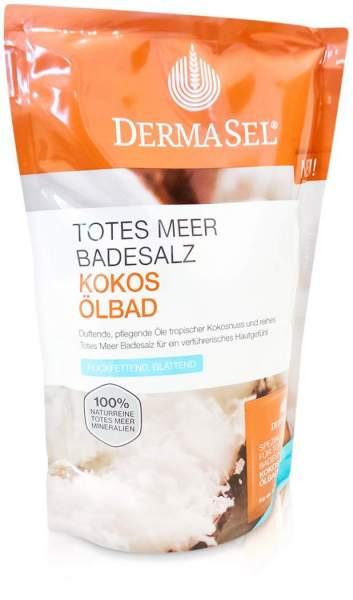 Dermasel Totes Meer Badesalz + Kokos Ölbad 1 Pa...