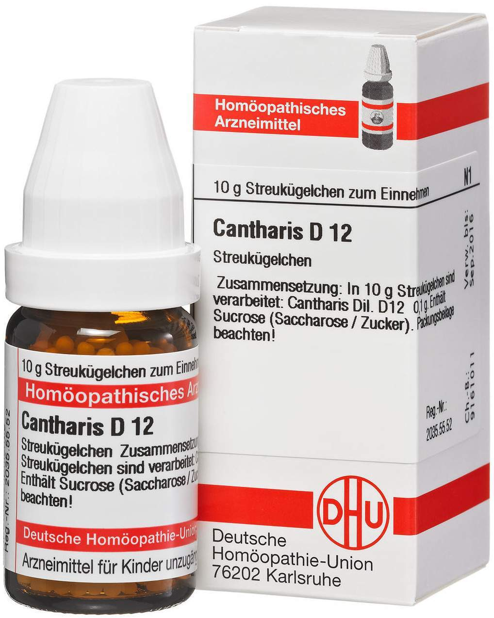 Cantharis D12 10 g Globuli