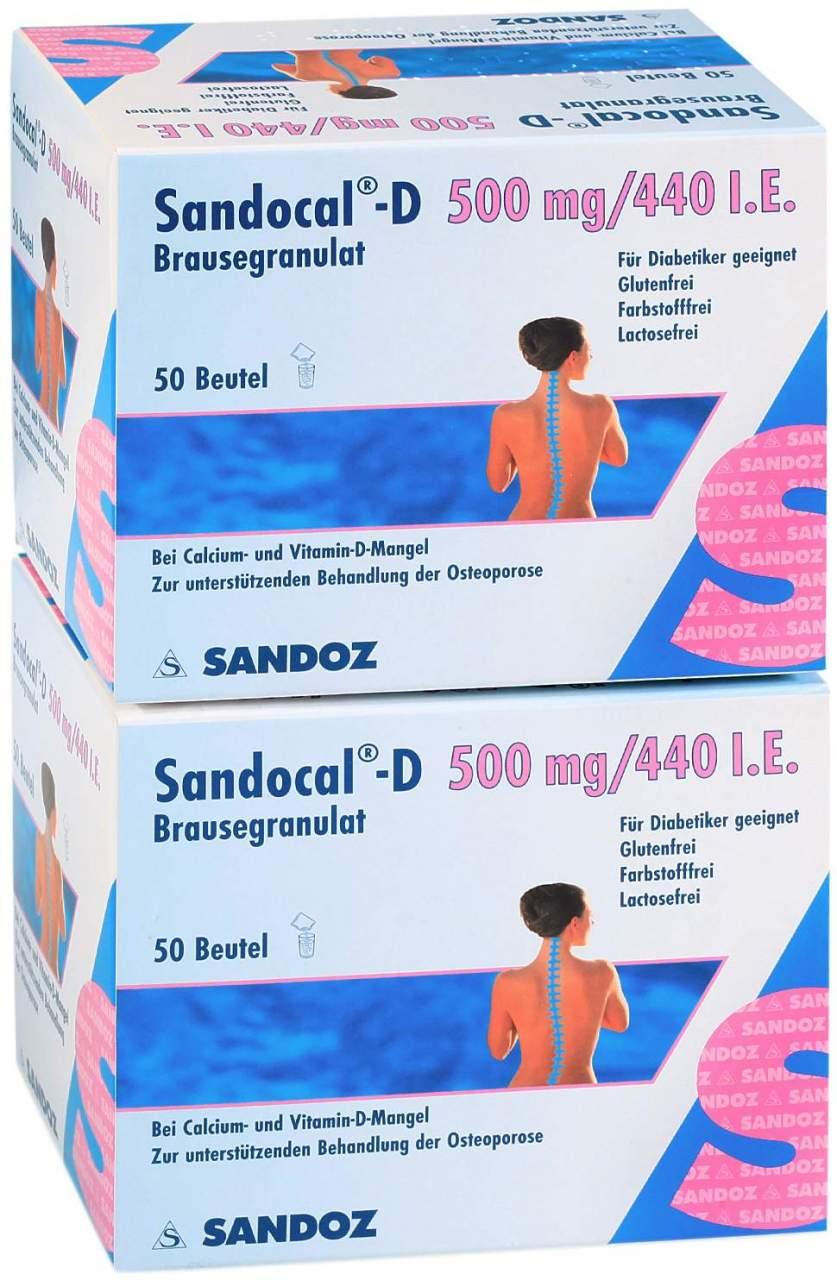 Sandocal D 500 440 Granulat 100 Beutel