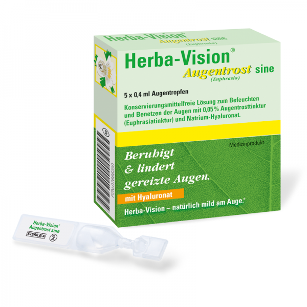 Herba-Vision Augentrost Sine 5 x 0,4 ml Augentropfen