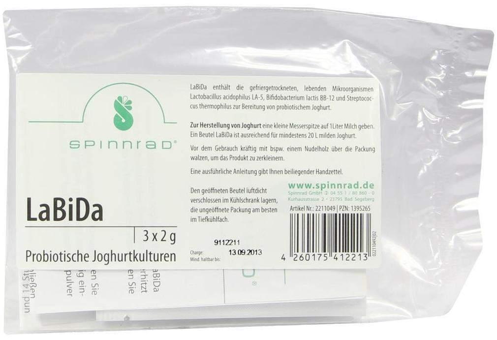 Spinnrad Labida 3 x 2 g Beutel zur Herstellung ...
