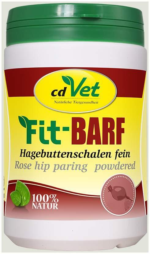 Fit Barf Hagebuttenschalen fein für Hunde 500 g...