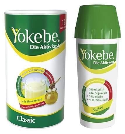 Starterpaket Yokebe classic 480 g Pulver inklus...