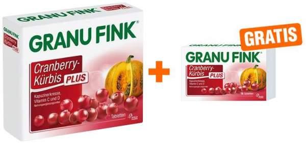 Granu Fink Cranberry Kürbis Plus 120 Tabletten ...