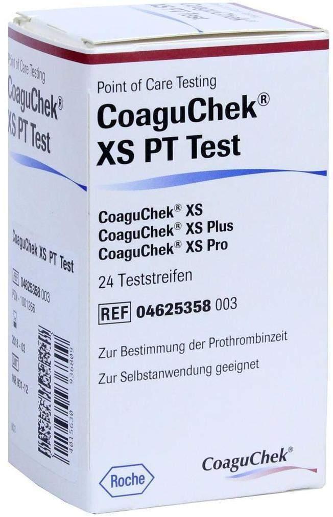 Coaguchek Xs Pt Test 24 Teststreifen