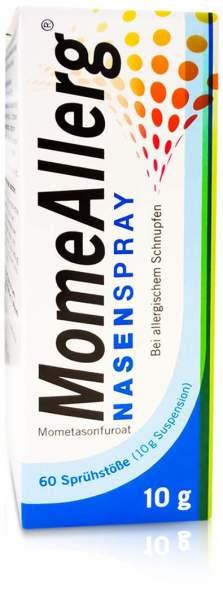 Momeallerg Nasenspray 50 µg je Sprühstoß 60 Sprühstöße 10 g Nasenspray