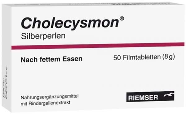 Cholecysmon Silberperlen 50 Dragees