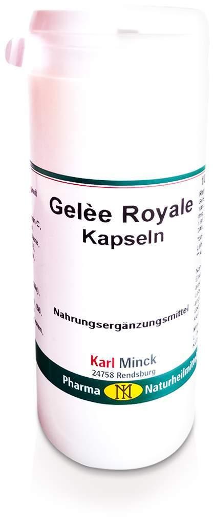 Gelee Royal mit Vitamin E Kapseln