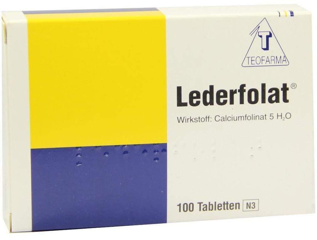 Lederfolat Tabletten 100 Tabletten