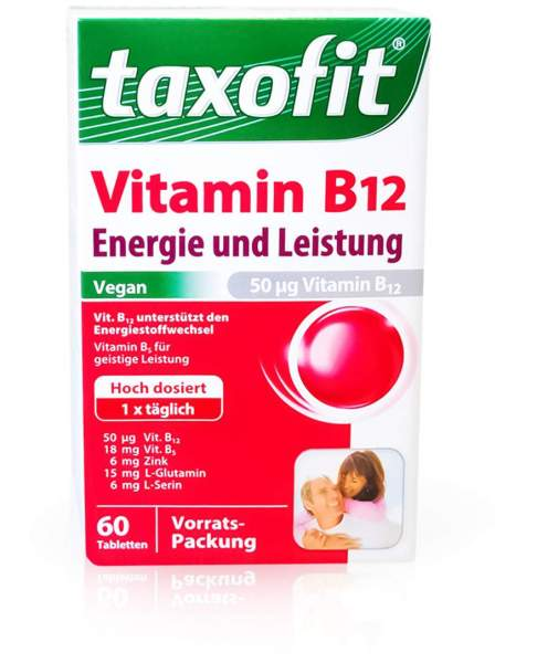 Taxofit Vitamin B12 60 Mini Tabletten