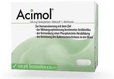 Acimol Mit Ph Teststreifen 48 Filmtabletten