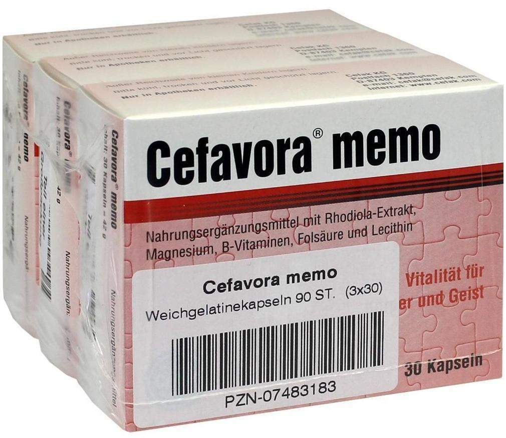 Cefavora Memo 90 Weichgelatinekapseln