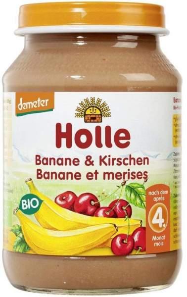 Holle Banane und Kirschen 190 g Brei