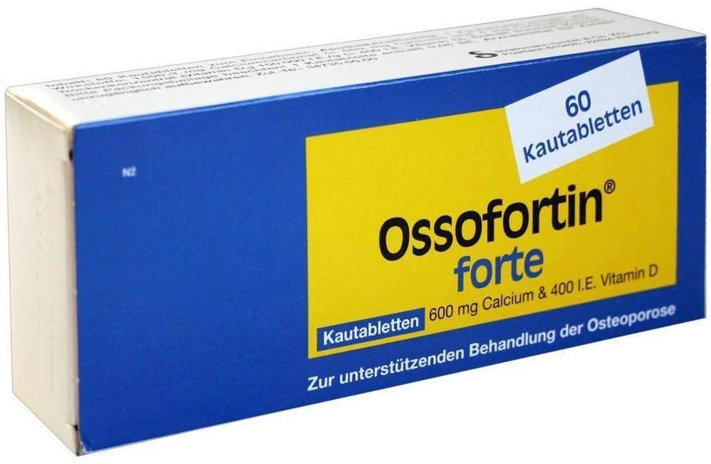 Ossofortin Forte 60 Kautabletten