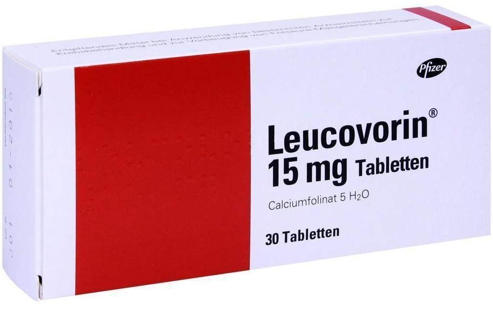 Leucovorin 15 mg Tabletten 30 Tabletten