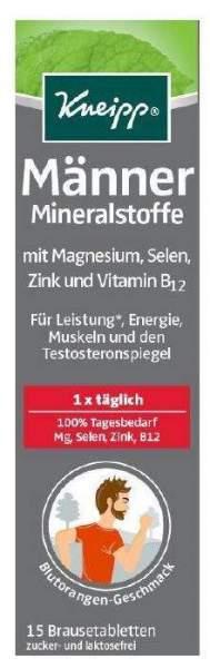 Kneipp Männer Mineralstoffe 15 Brausetabletten